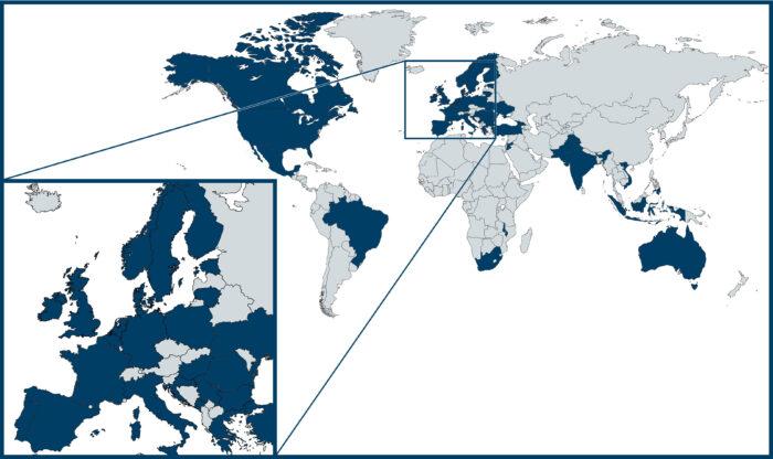 ENFOR™ around the world